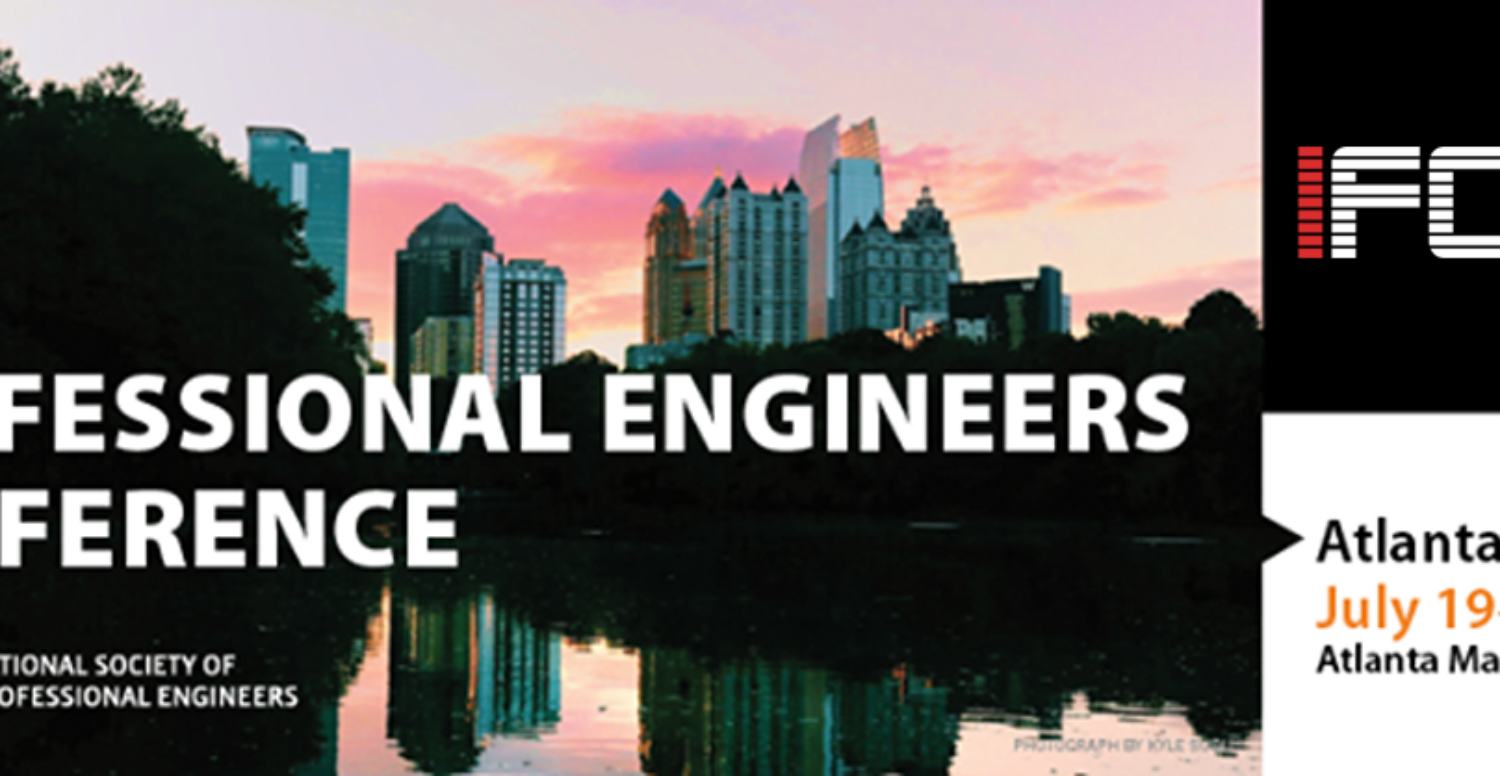 2017 National Society of Professional Engineers Conference - Atlanta, GA